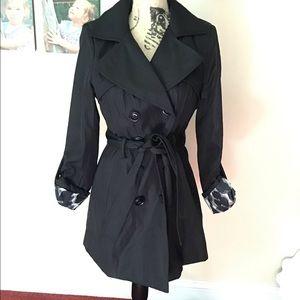 Black Trench Coat S